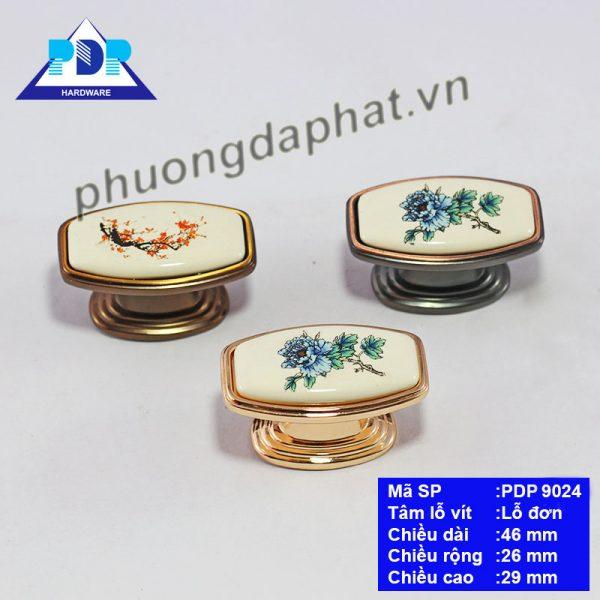 Núm Tay Nắm Tủ với họa tiết hoa được khắc họa trên nền chất liệu sứ rất trang nhã và duyên dáng, là kết tinh của sự khéo léo tỉ mỉ, mang lại sự rực rỡ và tinh tế cho đồ nội thất.